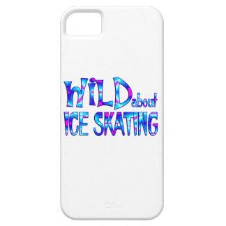 Capa Para iPhone 5 Selvagem sobre o patinagem no gelo