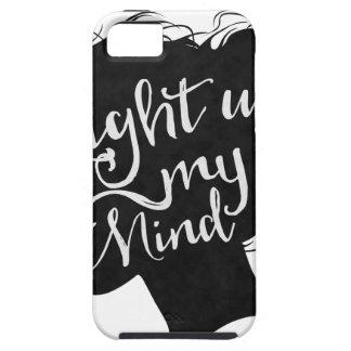Capa Para iPhone 5 Silhouette - light up my mind