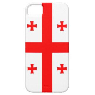 Capa Para iPhone 5 símbolo longo da bandeira de país de Geórgia