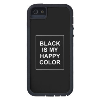 CAPA PARA iPhone 5  SKAM - BLACK IS MY HAPPY COLOR