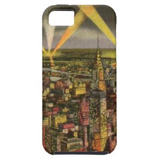 Capa Para iPhone 5 Skyline da Nova Iorque do vintage