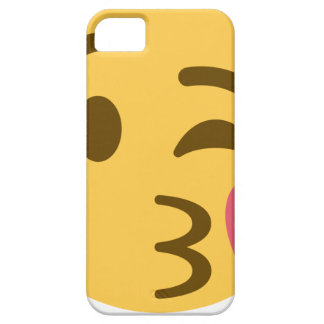 Capa Para iPhone 5 Smiley Kiss Emoji