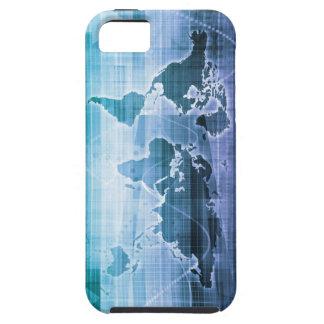 Capa Para iPhone 5 Soluções globais da tecnologia no Internet