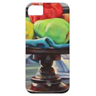 Capa Para iPhone 5 Suporte do limão da pera da romã