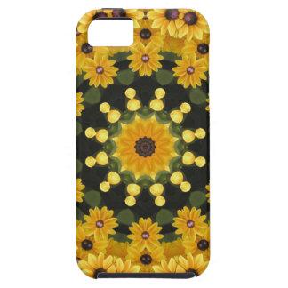 Capa Para iPhone 5 Susans de olhos pretos, mandala floral
