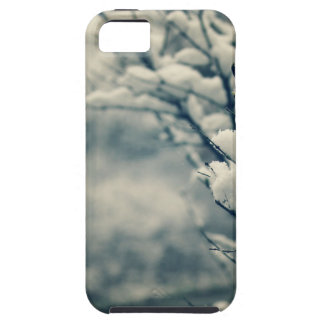Capa Para iPhone 5 Tapete do rato nevado da árvore