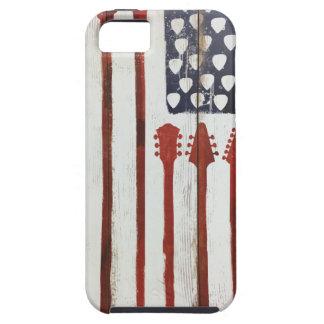 Capa Para iPhone 5 Tema patriótico da música da guitarra da bandeira