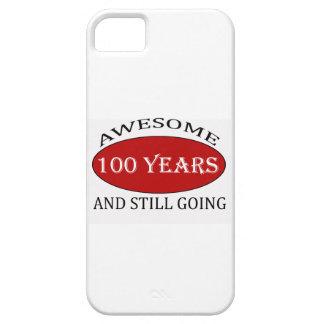CAPA PARA iPhone 5 TENDENDO 100 ANOS DE DESIGN VELHO DO ANIVERSÁRIO