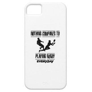 Capa Para iPhone 5 Tendendo o design legal do rugby