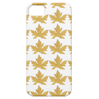 Capa Para iPhone 5 Teste padrão amarelo da folha