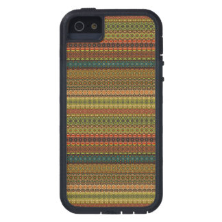 Capa Para iPhone 5 Teste padrão asteca tribal do vintage