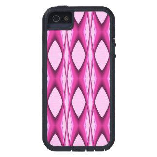 Capa Para iPhone 5 Teste padrão cor-de-rosa