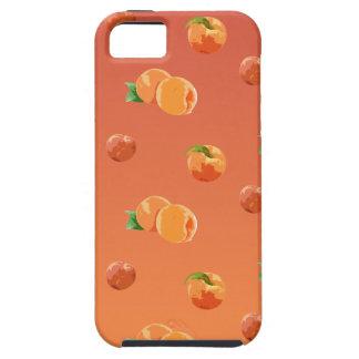 Capa Para iPhone 5 Teste padrão da fruta do pêssego