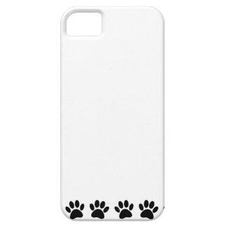 Capa Para iPhone 5 Teste padrão da pata do cão