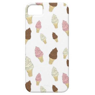 Capa Para iPhone 5 Teste padrão do cone do sorvete