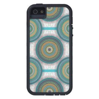 Capa Para iPhone 5 Teste padrão floral étnico abstrato colorido da