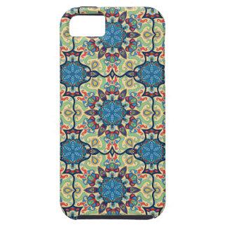 Capa Para iPhone 5 Teste padrão floral étnico abstrato colorido de da