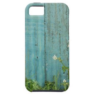 Capa Para iPhone 5 textura azul da cerca da pintura da natureza das