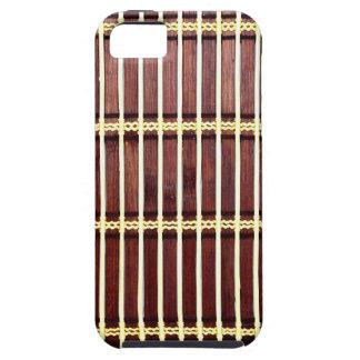 Capa Para iPhone 5 textura de bambu da esteira