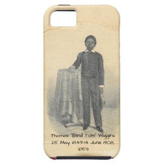 """Capa Para iPhone 5 Thomas """"Tom cego"""" Wiggins, 1859"""