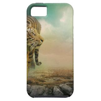 Capa Para iPhone 5 Tigre grande