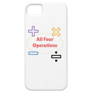 Capa Para iPhone 5 Todas as quatro operações