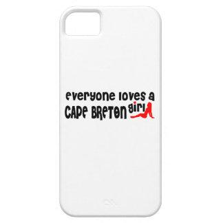 Capa Para iPhone 5 Todos ama um bretão do cabo