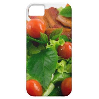 Capa Para iPhone 5 Tomates de cereja, ervas, azeite, ovos e bacon