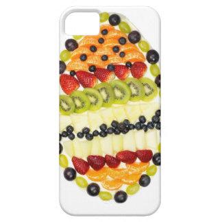 Capa Para iPhone 5 Torta dada forma ovo da fruta com várias frutas