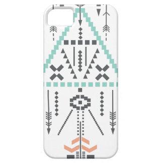 Capa Para iPhone 5 Totem de Boho, símbolo étnico, Hippie, asteca,