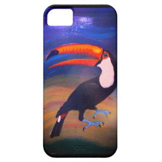 Capa Para iPhone 5 Toucan 2Can! pintado à mão