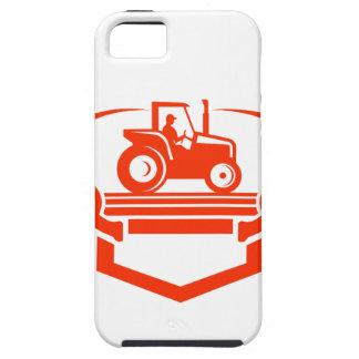 Capa Para iPhone 5 Trator do Antler dos cervos da cauda branca retro
