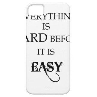 Capa Para iPhone 5 tudo é duro antes que esteja goethe fácil