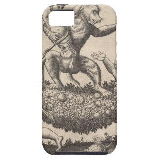 Capa Para iPhone 5 Um macaco que guardara um putto encadernado que