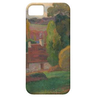 Capa Para iPhone 5 Uma fazenda em Brittany - Paul Gauguin