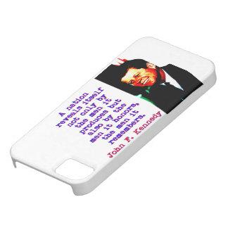 Capa Para iPhone 5 Uma nação revela-se - John Kennedy