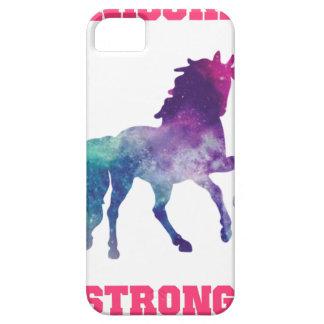 Capa Para iPhone 5 Unicórnio forte