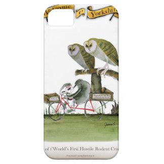 Capa Para iPhone 5 unidade hostil do roedor de yorkshire do amor