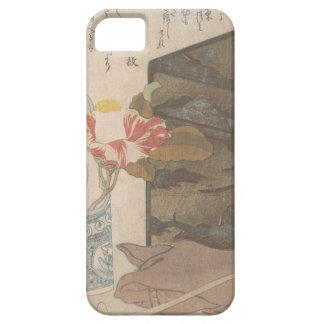 Capa Para iPhone 5 Vaso de flor e caixa da laca - chinês