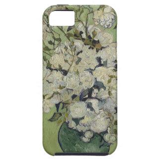 Capa Para iPhone 5 Vaso de Vincent van Gogh dos rosas que pintam a