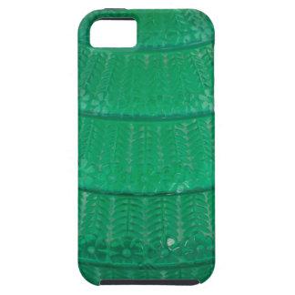 Capa Para iPhone 5 Vaso verde do vidro da arte