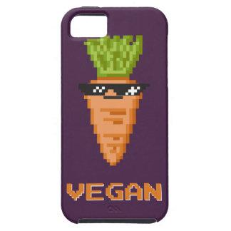 """Capa Para iPhone 5 Vegan """"negócio com ele"""" cenoura"""
