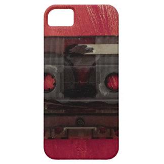 Capa Para iPhone 5 Vermelho do vintage da música da cassete de banda