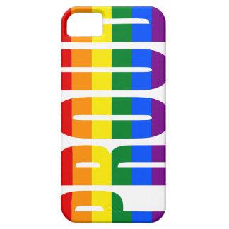 Capa Para iPhone 5 Vertical ORGULHOSO (arco-íris)