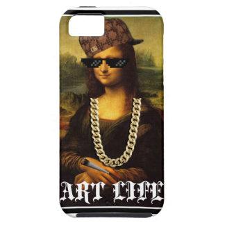 Capa Para iPhone 5 Vida da arte da vida do vândalo de Mona Lisa