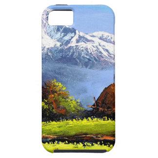 Capa Para iPhone 5 Vista panorâmica da montanha bonita de Everest