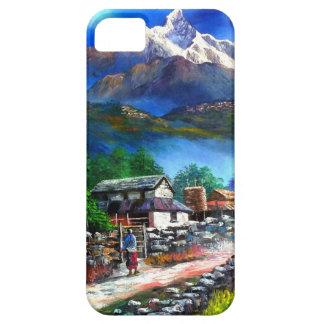 Capa Para iPhone 5 Vista panorâmica da montanha Nepal de Everest