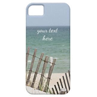 Capa Para iPhone 5 Vista para o mar através da cerca resistida da