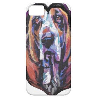 Capa Para iPhone 5 Você é meu coração de Basset Hound