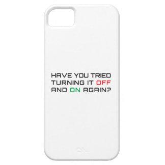 Capa Para iPhone 5 Você tentou desligá-lo e sobre outra vez?